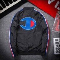 SPBEST Champion zipper baseball bomber jacket