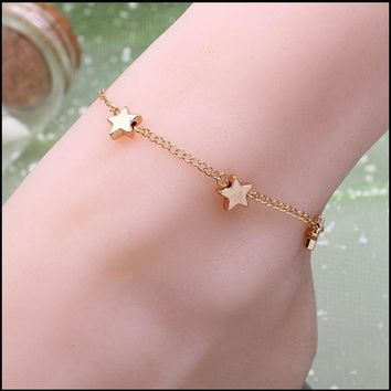 Cute New Arrival Stylish Ladies Gift Shiny Sexy Jewelry Bracelet Bangle Korean Accessory Hot Sale Anklet [6768770823]
