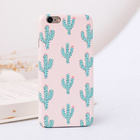 Cactus mobile phone case for iphone 7 5 5s SE 6 6s 6plus 6s plus + Nice gift box!