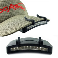 Baseball Cap Clip-on LED Headlamp