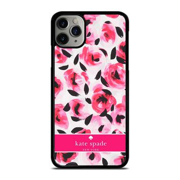 KATE SPADE NEW YORK PINK ROSE iPhone Case Cover