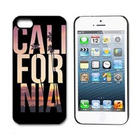ABC 1pcs Newest Cute Hard Case for Iphone 5 5s (CALI FOR NIA)