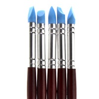 New Brand Pottery Clay Sculpture Carving Tools Art Craft Supplies Size S5 Pcs high quality free shipping