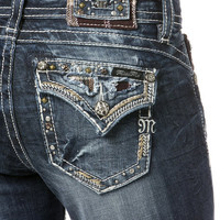 Puzzle Path Mid Rise Boot Cut