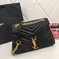ysl women leather shoulder bag satchel tote bag handbag shopping leather tote crossbody satchel shouder bag 101