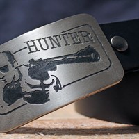 Hunter S. Thompson GONZO Belt Buckle