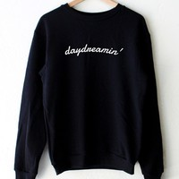 Daydreamin' Oversized Sweatshirt - Black