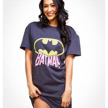 Batman Junior Fitted Sleep Shirt