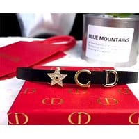 Dior Women's Retro Full Diamond Pentagram Bracelet