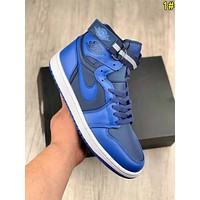Nike Air Jordan Classic Men Retro High Top Sport Sneakers Basketball Shoes 1#