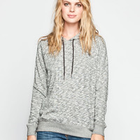 Volcom Lived In Womens Hoodie Charcoal  In Sizes