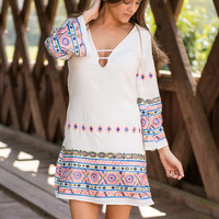 Sun Kissed Dress, White