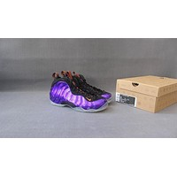Nike Air Foamposite One Black Purple Sneaker Shoe