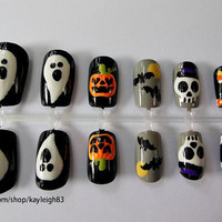 Halloween Assortment Nail Art