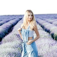 Harlow Cropped Overalls
