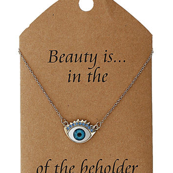 Beauty Eye Necklace - New In This Week - New In - Topshop
