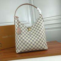Louis Vuitton Lv Monogram Leather Lockme Hobo Shoulder Bag #17081 - Best Deal Online