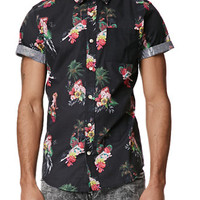 On The Byas Camp Woven Shirt at PacSun.com