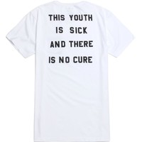 Tavik Youth T-Shirt - Mens Tee - White - Extra Large