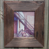 8x10 Rustic Reclaimed Drift Wood Picture Frame