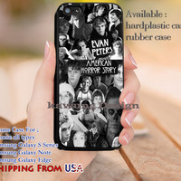 Evan Peters Collage American Horror Story iPhone 6s 6 6s+ 5c 5s Cases Samsung Galaxy s5 s6 Edge+ NOTE 5 4 3 #movie #AmericanHororStory dl14