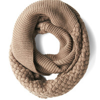 ModCloth Chill Out on the Town Scarf in Taupe