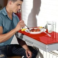 Wall mounted extending table DUO by CANCIO