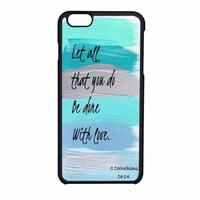 Christian Quotes Bible iPhone 6 Case