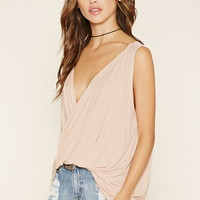 Drapey Twisted Top