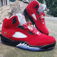 Trophy Room x Air Jordan 5 JSP University Red