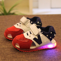 Choice of Boys or Girls Light Up Sneaker Sandals.