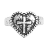 Sacred Heart Ring - Rings - Jewelry | GYPSY WARRIOR