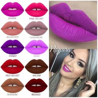 ONETOW Silky Smooth Liquid Lipstick Matte Finish -Lime Crime Day-First?
