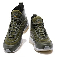 Trendsetter  Nike Air Max 97 MID/RT  Women Men Fashion Casual Sneakers Sport Shoes
