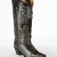 Corral Lace Inset Cowboy Boot