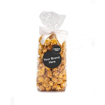 10 Custom Labeled Popcorn Favor Gift Bags