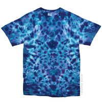 Kaleidoscope Crackle Tie Dye T Shirt on Sale for $16.95 at HippieShop.com