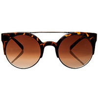 The Money Maker Sunglasses in Brown