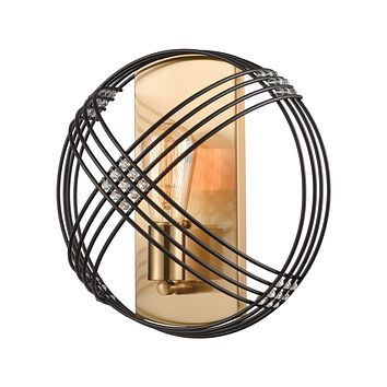 Concentric - Sconce - Oil Rubbed Bronze, Satin Brass, Satin Brass