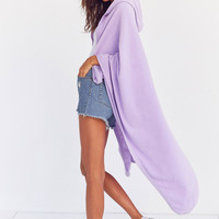 Beach Fleece Hooded Throw Blanket | Urban Outfitters