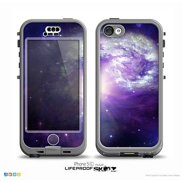 The Bright Open Universe Skin for the iPhone 5c nüüd LifeProof Case