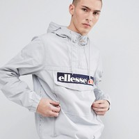 ellesse Overhead Jacket In Grey at asos.com