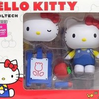 Anime Cute Nendoroid Hello Kitty Movable PVC Action Figure Collectible Model Toy Doll 8CM KT0100