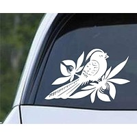 Bayside Bird Band Die Cut Vinyl Decal Sticker