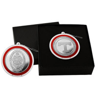 University of Tennessee Silver Coin Ornament