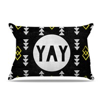 "Skye Zambrana ""Yay"" Pillow Case"