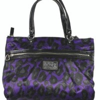 Coach Daisy Ocelot Print Sateen Large Tote Bag, Style 20048