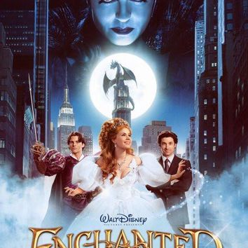 Enchanted 27x40 Movie Poster (2007)