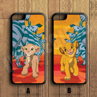 Lion king best friends Forever Couple Case,Custom Case,iPhone 6+/6/5/5S/5C/4S/4