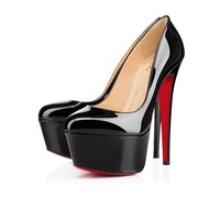 Victoria 160mm Black Patent Leather